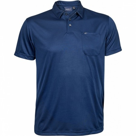 North 56°4 Navy Blue Polo Cool Effect 4XL