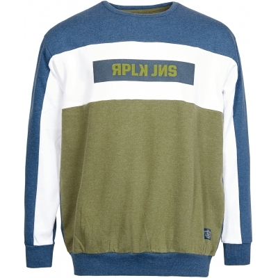 Replika Jeans Block Color Sweat XXL-6XL