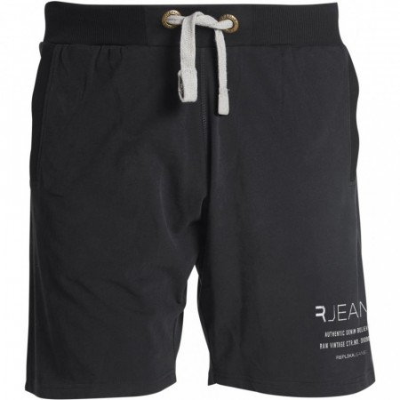 Replika Sweat Shorts Black XL-8XL