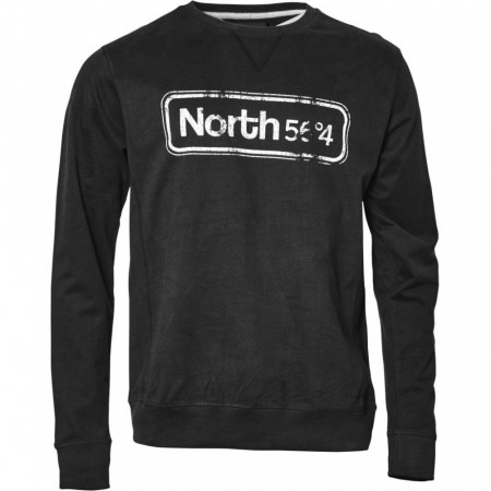 North 56°4 Sort Crew-neck Sweat 2XL-6XL