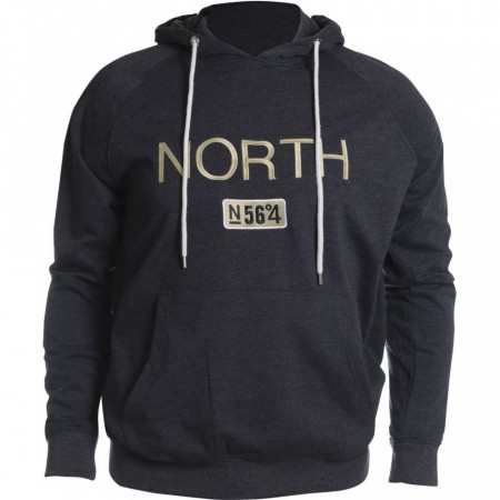 North 56°4 Hooded Sweat Navy Blue XL-2XL