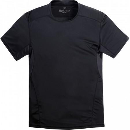 67da5059 North 56°4 Sport Running T-shirt Black XL-8XL