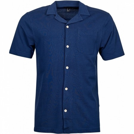 North 56°4 Navy Blue Pique med knapper 2XL-8XL