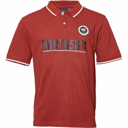 North 56°4 Wine Red Polo S/s 2XL-8XL