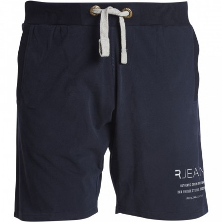 Replika Sweat Shorts Navy Blue XL-8XL