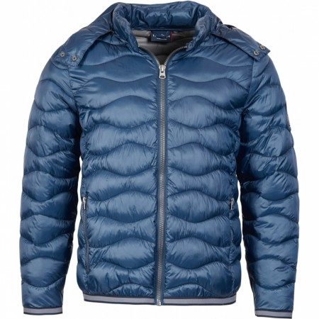 North 56°4 Navy Blue Puffer Jacket med avtagbar hette 4XL+7XL