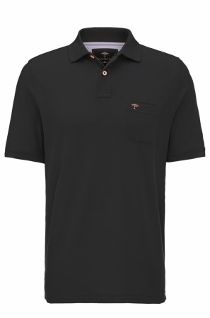 Fynch-hatton Polo Basic Black M-4XL