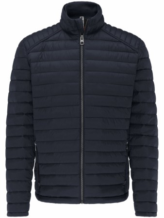 Fynch-hatton Navy Blue Lightweight Puffer Jacket XL-4XL