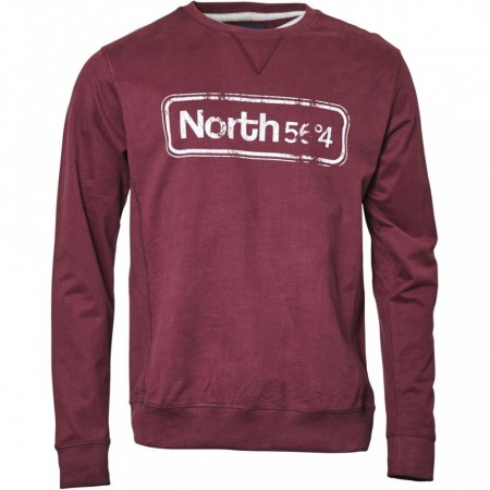 North 56°4 Bordeaux Crew-neck Sweat 8XL