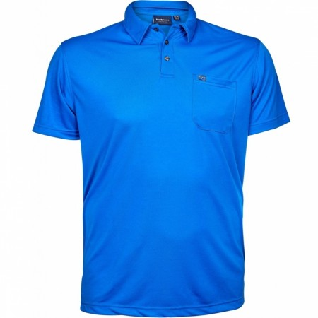 North 56°4 Dusty Blue Polo Cool Effect 3XL-7XL